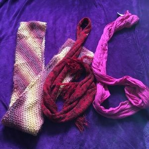 Scarves set of 3 scarf